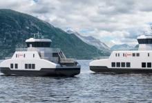 瓦锡兰将设计和装备两艘新的电动渡轮
