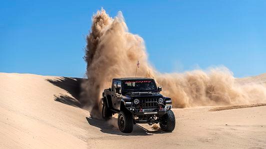 2021吉普角斗士柴油准备以442磅-英尺的扭矩准备用于岩石