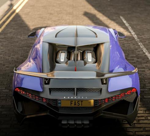 布加迪·迪沃(Bugatti Divo)在这些具有壁纸质量的游戏镜头中看起来势不可挡