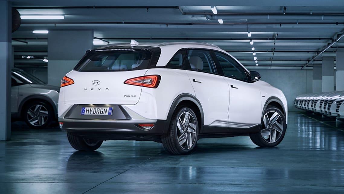 新的现代Nexo 2021:第一批氢燃料电池电动SUV抵达澳大利亚