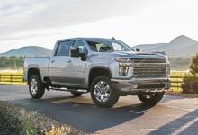 前沿汽车资讯:雪佛兰Silverado HD乘员组驾驶车型销售最快
