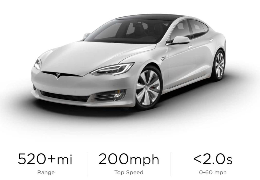 特斯拉Model S格子已可订购,但几乎没有透露