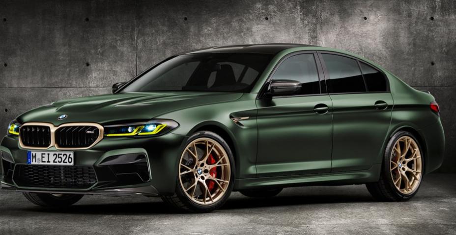 新款BMW M5 CS:配备迈凯轮F1动力的超级轿车