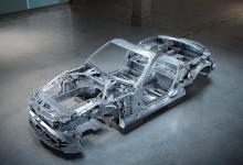 奔驰AMG展示即将到来的SL的新定制底盘