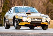 保时捷秘密修复这辆924 Carrera GTS拉力赛轿车